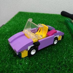 「レゴレシピ いろんな車」を見ながら作ってみた