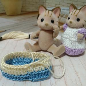初心者がかぎ針編みでシルバニアのドール服を編んでみた108