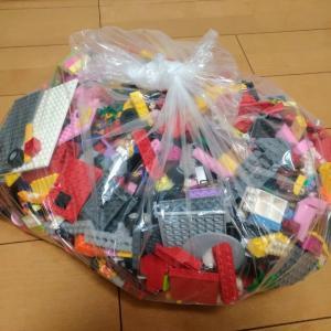 ヤフオクで落札した大量のレゴが届いた♪Part1