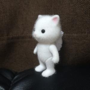 主人がまたシルバニアの人形の3Dモデルを作成してた