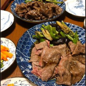すき焼き風☆牛肉のソテー