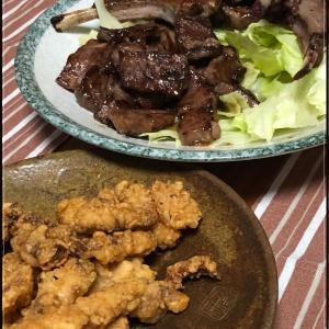 実家飯☆お肉を焼いてくれました♪