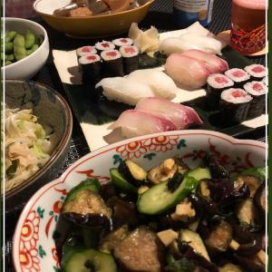 常備菜とお寿司の週末