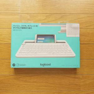 スマホやタブレットでも使用できるBluetoothキーボード