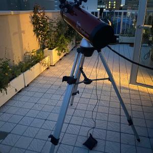 天体望遠鏡と植物の肥料とか