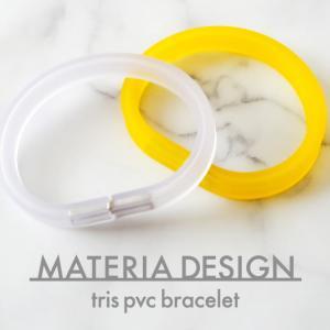 【MATERIA DESIGN trisPVC レビュー】イタリアらしい発色の良いブレスレット!汗や水にも強い素材で安心です。