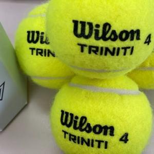 地球環境にも優しいというボールのトリニティを使ってテニスをしてみた!