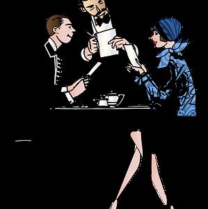 シニア夫婦の会話なき食事風景