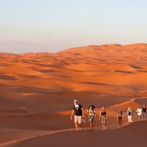 【モロッコ】 メルズーガ砂漠ツワーへ