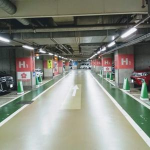 カレコカーシェアリングのステーション渋谷区役所前地下駐車場(地下3階駐車場)に行ってみた!