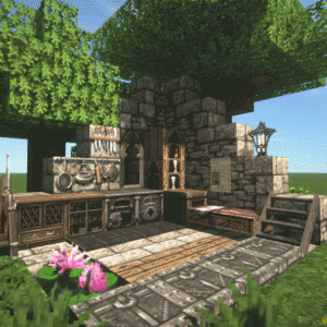 Minecraft1.12.2にリソースパックConquestを導入する