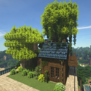 Minecraftで街作り-入り江の街建築日記4