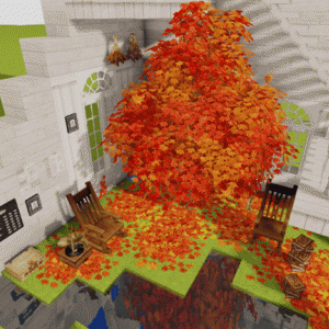 cocricotの秋ブロックが可愛かったので10✕10建築!