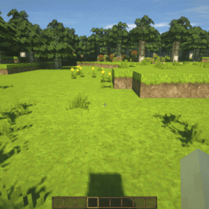Minecraftで建築を始める前に建築しやすい気候にしたい