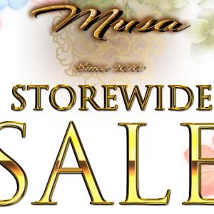 [Musa]50%Off Storewide Sale