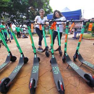 ブラジル【電動キックボード】のレビュー  -Massによるモビリティ革命-