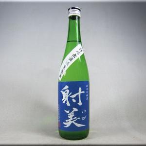 射美(いび)純米吟醸 槽場無濾過生原酒【杉原酒造】