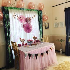 2歳児の誕生日祝いの飾り付けが簡単にできる!ご両親必読