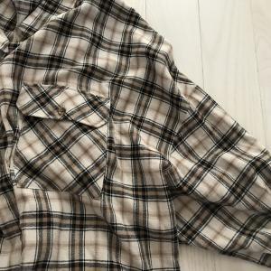しまむらで見つけた形が可愛いBIGシャツ♪