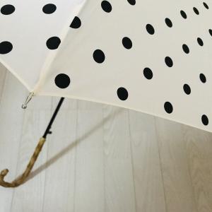 しまむらで見つけたドットの傘♡