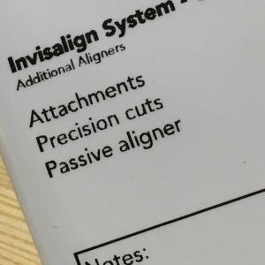 パッシブアライナー(Passive aligner)になりました!