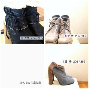 靴の整理、続編