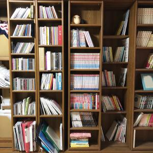 お家に図書館を作りたい!本棚を整理する。