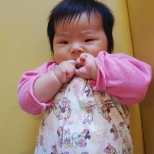 2回目の予防接種(生後99日目。)
