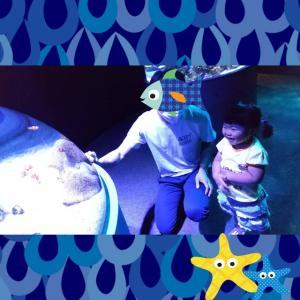 初めての水族館(生後803日&244日。)