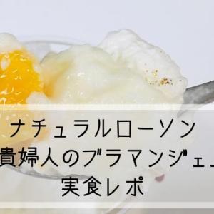 ナチュラルローソン今田美奈子監修「貴婦人のブラマンジェ」 実食感想