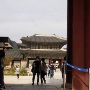 ソウルの景福宮(王宮)