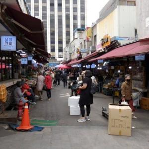 今日のソウルの南大門市場