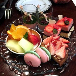 名古屋東急ホテルのアトリウムラウンジ 「グリンデルワルド」で桜のアフタヌーンティー❤
