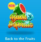 ベラジョンカジノ Back to the Fruitsを紹介