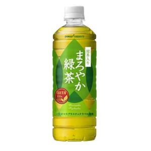 【30%OFF】ポッカサッポロ まろやか緑茶 600ml ×24本がクーポン適用で1394円と激安!