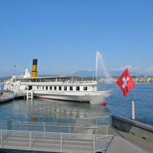"""内陸国・スイスの""""国際航路""""でジュネーブへ~スイス旅2019⑦~"""