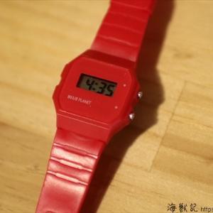 時計に興味を持ち出した2歳の娘にプレゼントした腕時計