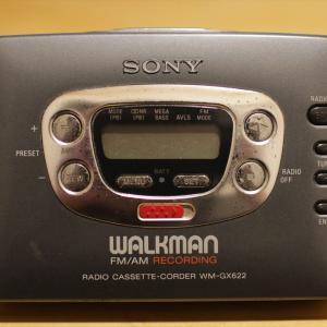 アナログカセットテープのSONYのウォークマンを発掘して、90年代のノスタルジーに浸る