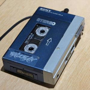 SONYのウォークマン40周年イベントでアナログカセットテープの音を初代ウォークマンで聞く