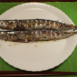 うちごはん・自炊 Vol.147 <晩ごはん 秋刀魚・豚丼>