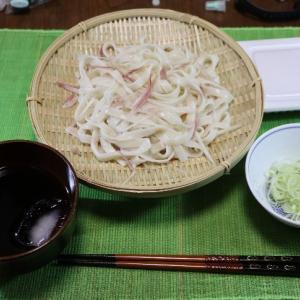 うちごはん・自炊 Vol. 322 <朝ごはん ざる麺1・2・3・4>