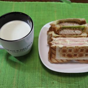 うちごはん・自炊 Vol.325<朝ごはん 1・2・3 サンドイッチ・ホットサンド・トースト>