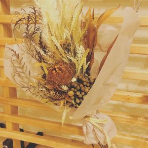 【花】秋仕様のスワッグを