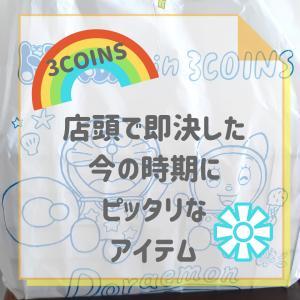 【3COINS】店頭で即決した今の時期にピッタリなアイテム