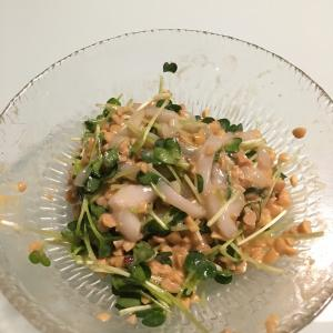 【レシピ+1】ウエカツさん・イカ納豆
