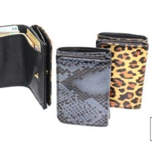 『LEON11月号掲載』手のひらサイズのちい財布。パームウォレット(ハープシール箔押し)発売開始