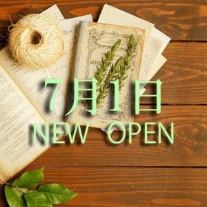 7月1日 New Open