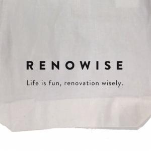 【011:RENOWISE(リノワイズ )がイベント・セミナー参加者にエコバックをプレゼントするよ。】