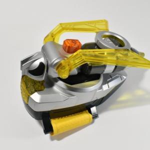 ザビーゼクター塗装剥げの修理テスト【玩具】