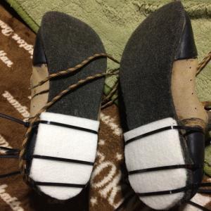 コツコツ靴を修理